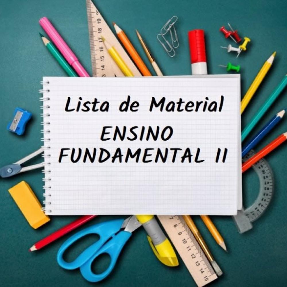 LISTA DE MATERIAL FUNDAMENTAL II - SEUC